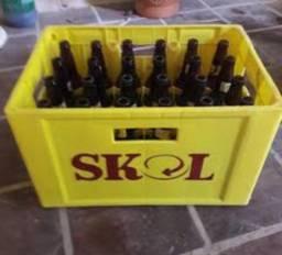 Título do anúncio: Caixa vazia de cerveja