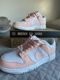 Título do anúncio: nike dunk low pink move to zero