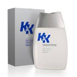 Deo Colônia Spray Masculina K&K Tradition - 100 ml