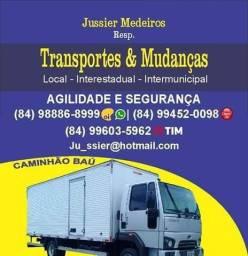 Título do anúncio: Transportes/Mudanças/Fretes