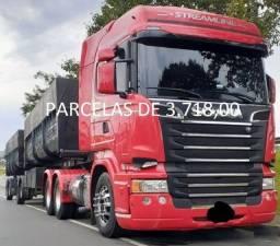Título do anúncio: Scania R440 6x4 ano 2016 com Bi-Caçamba com cotrato de serviço (Manaus)