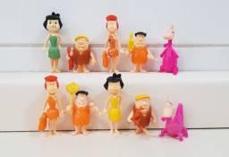 Coleção Miniatura Kinder Ovo Turma Dos Flinstones 05 Peças