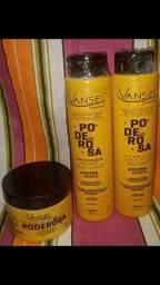 Título do anúncio: Kit Contendo 1 shampoo ,1condicionador e 1 mascara