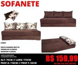 Título do anúncio: Abaixoooou: sofá cama casal por apenas 159,99