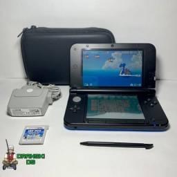 Nintendo 3DS XL + 18 Jogos + Era Do Gelo e Brinde