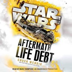 Título do anúncio: Star Wars Life Debt (Trilogia Aftermath)