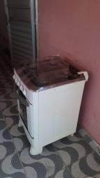 Título do anúncio: Fogão geladeira e armario em bom  estado
