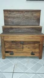 Título do anúncio: Móvel de madeira de demolição