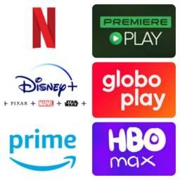 Título do anúncio: Netflix Prime Video Globo Play
