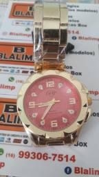Relógio Feminino Original Dhp Aprova De Água Promoção