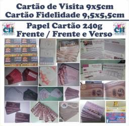 Título do anúncio: Cartão Fidelidade/ Cartão de Visita.