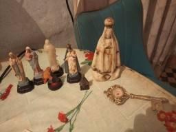 Título do anúncio: Imagens de santas diversas 10 reais cada anos 70