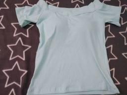 Título do anúncio: Blusa Azul Com Bojo