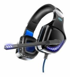 Título do anúncio: Headphone Gamer Led C/ Fio Pc Jogo Fone De Ouvido