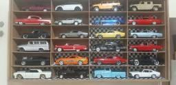 Miniaturas de carros classicos escala 1/24 coleção completa