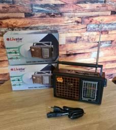 Título do anúncio: Caixa de Som Rádio AM/FM Pilha e Energia Cnn-16