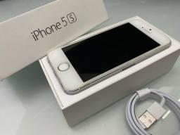 Título do anúncio: IPhone 5S 16 GB Silver