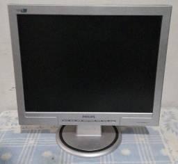 Título do anúncio: Monitor LCD Philips 150 S de 15 polegadas p/ computador