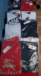 Camisas primeira linha 10 peças por 300,00