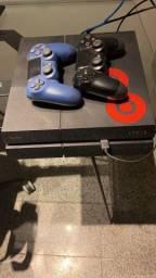 Título do anúncio: PLAYSTATION 4 PRO (PS4 PRO) + 1 controle original + 2 jogos