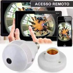 Lâmpada câmera inteligente 360?