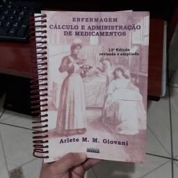 Título do anúncio: Enfermagem cálculo e administração de medicamentos