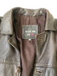 Jaqueta de couro Ellus