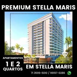 Título do anúncio: Premium Stella Maris - 1/4 com suíte e varanda - Incrível