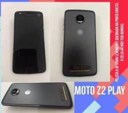 Título do anúncio: Moto Z2 play, 64gb, carregador original. Cidade Guaratinguetá SP