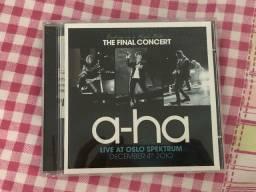 CD original A-HA ao vivo