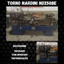 Título do anúncio: Torno nardini nd250Be