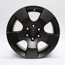 Título do anúncio: Jogo Roda Original Nissan Frontier Se 2012 Aro 16x7preta 6x114 Et 45 Usada