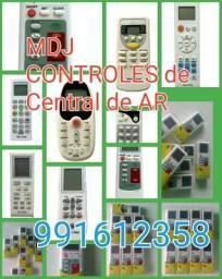 Título do anúncio: controles de central de ar