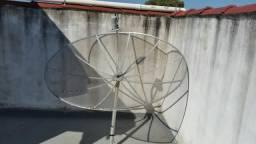 Antena parabólica 1.70cm multiponto cromus