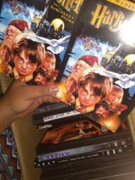 DVDs de filmes e CDs diversos
