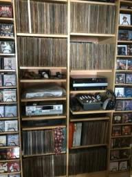 Excelente coleção de Vinis, CDs e DVDs