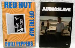 DVD Audioslave + Red Hot Chilli Peppers - Originais