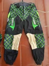 Conjunto ASW - calça camisa trilha/motocross