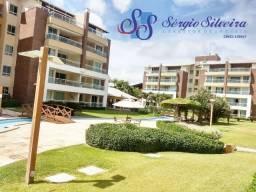 Apartamento à venda no Condomíno Gran Sol Porto das Dunas com móveis projetados nascente