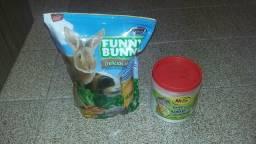 Ração para roedores e Banho a seco para Hamster