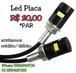 Led Placa Pisca Stop Moto