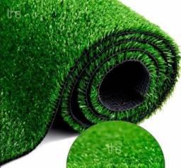 Grama Sintética / Artificial Verde 2 metros largura