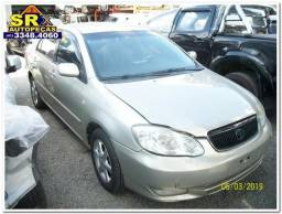 Sucata Corolla Xei 1.8 16v Gasolina Aut 2004 Para Retirada De Peças