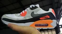 f240c28cfe Tênis Nike Air Max cinza com laranja comprar usado Curitiba