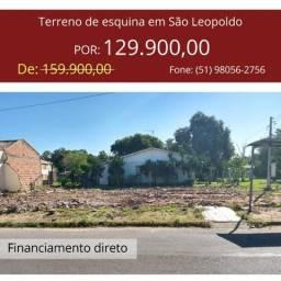 Terreno de esquina em São Leopoldo
