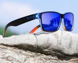 Oculos sporte lente polarizada e contra raios ultravioleta original a pronta entrega
