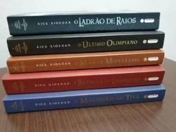 Série Percy Jackson & Os Olimpianos (5 volumes)