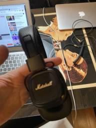 Marshall II Headphone - Bluetooth - em estado de novo.