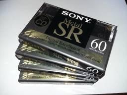 Apucarana - Fitas K - 7 Sony lacradas