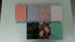 Caderninhos gramatura alta 180g